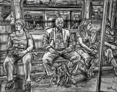 On The A Train, NYC