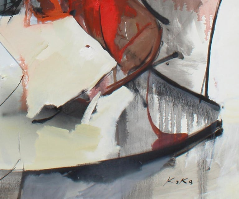 Don Givoanni's Horse, from Don Givonni series  - Abstract Art by KOKO