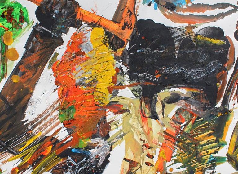 Nail It, 1990 (Peck Slip)   - Painting by Harry Bertschmann