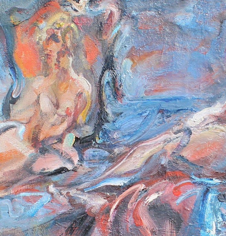 The reflation of self. - Impressionist Painting by Gérard PAMBOUJIAN