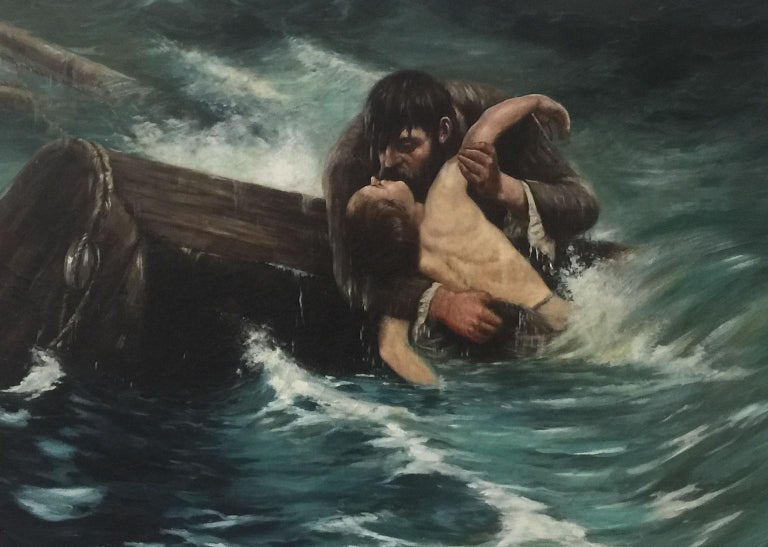 The Savior - Impressionist Art by Simon Agopian