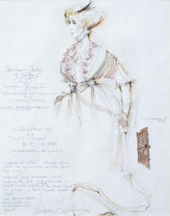 Costume Design for Sian Phillips in How Many Miles to Babylon, BBC TV Drama
