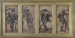 Early 1900s Drawings and Watercolour Paintings