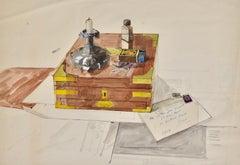 Still Life - John Sergeant 20th Century British watercolour drawing