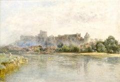 Windsor Castle - By Pre-Raphaelite Landscape Artist Alfred William Hunt