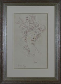 Flora Robson - 20th Century British portrait of by Sir Francis Rose