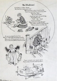 The Dustman - Early 20th Century British Children's Book Illustration