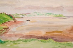 On the Donegal Coast - Modern British watercolour of Ireland by Reginald Brill