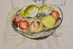 Realist Still-life Drawings and Watercolors