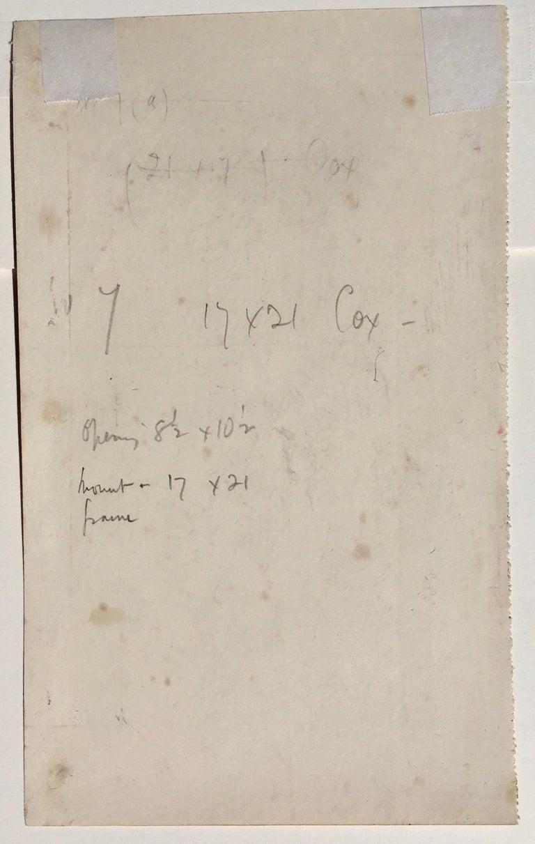 London Symphony Orchestra - 1936 drawing by Lord Methuen - Art by Lord Paul Ayshford Methuen