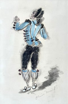 Figaro - 1950s British Costume Design for Opera by Oliver Messel