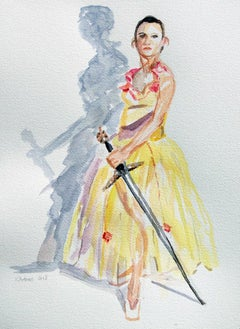 Ballerina With A Sword