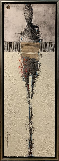 Svetlana Shalygina.Original Abstract Figurative Painting.Contemporary/Textural