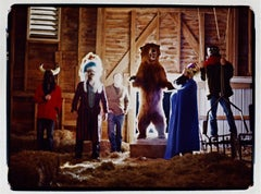 My Morning Jacket in the barn, Louisville KY, 2003