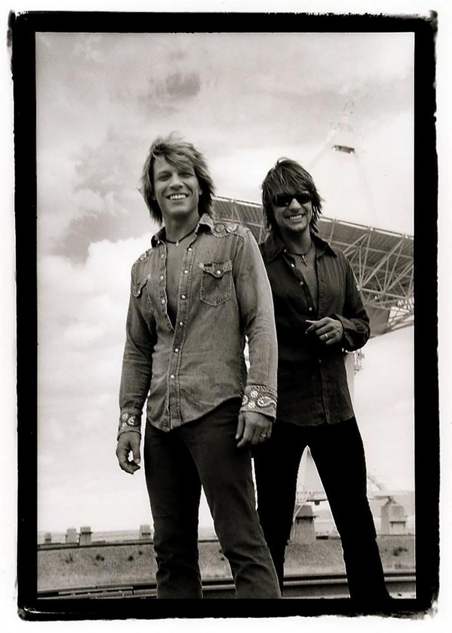 Jon Bon Jovi and Richie Sambora, NM, 2002