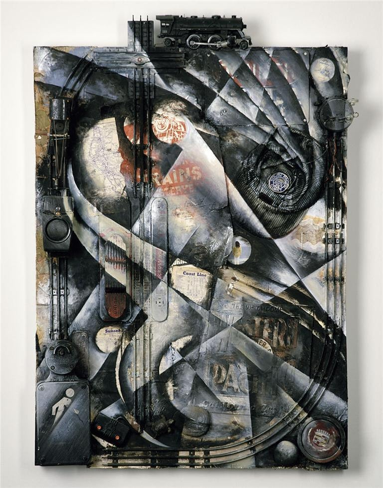 Jenice Heo Abstract Print - On the Beach