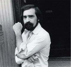 Martin Scorsese, Filming Raging Bull, NYC, 1979