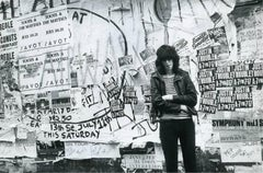 Joey Ramone, St. Mark's Place, NYC, 1981