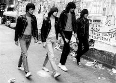 Ramones, St. Mark's Place, NYC, 1981