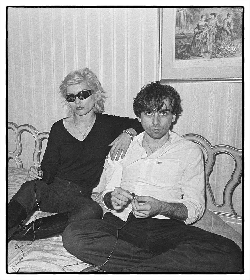 Debbie Harry and Chris Stein, Blondie, New York, 1979