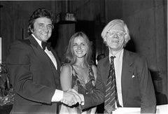 Johnny Cash, Carlene Carter and Andy Warhol