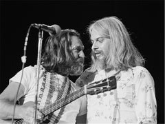 Willie Nelson and Leon Russell, 1976