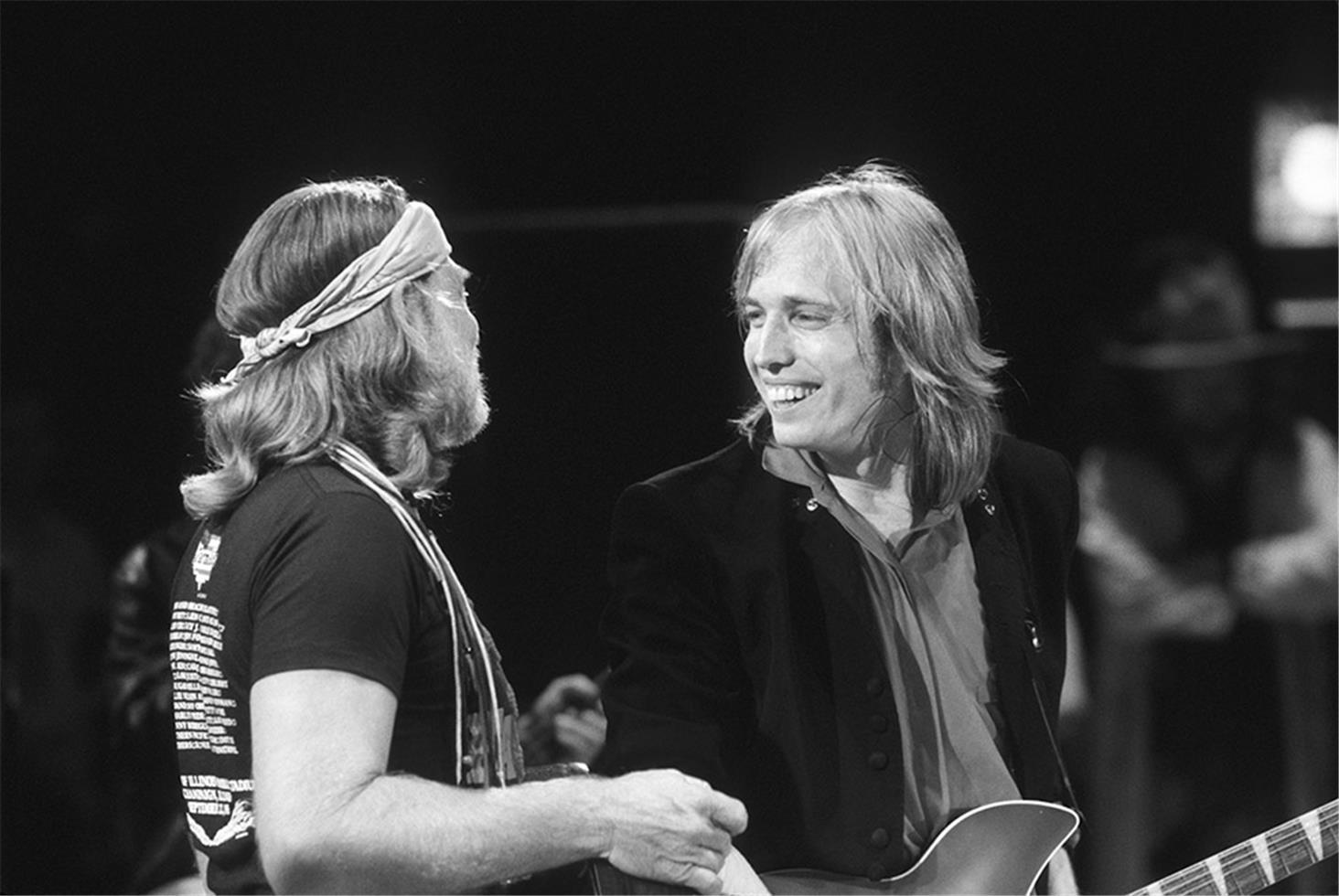 Willie Nelson and Tom Petty, IL, 1985