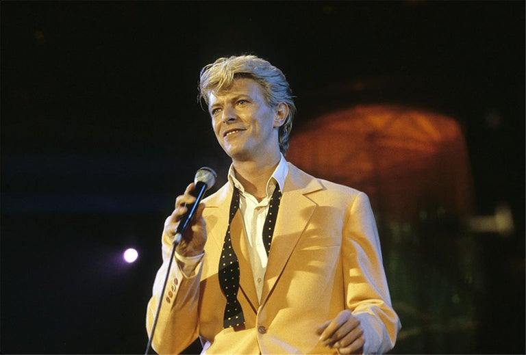 Charlyn Zlotnik Color Photograph - David Bowie, 1983