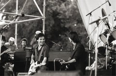 Bruce Springsteen and Jackson Browne, NY, 1982