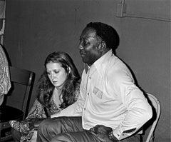Muddy Waters and Bonnie Raitt