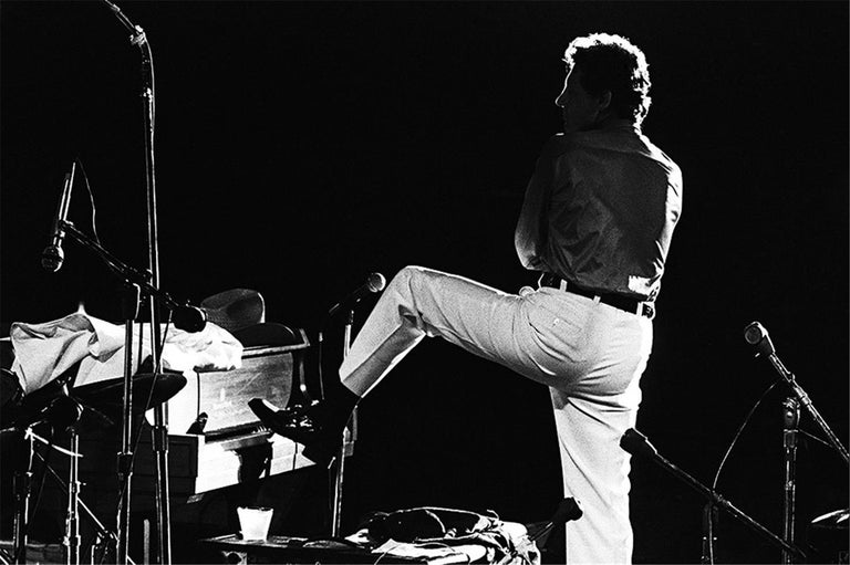 Charlyn Zlotnik Black and White Photograph - Jerry Lee Lewis, 1975