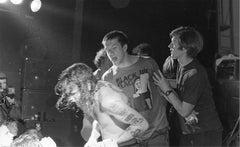 Henry Rollins and Joe Cole, Black Flag, Boston, MA, 1986