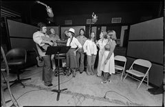 Johnny Cash, Cash family in studio, 1979