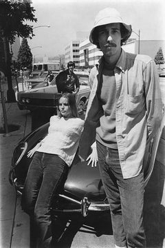 Michelle and John Phillips, The Mamas & the Papas, Beverly Hills, CA, 1965