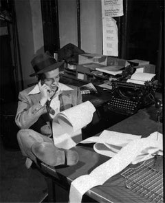 Frank Sinatra at the office #2