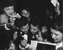 Frank Sinatra with Fans #2, 1943