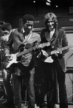 Buddy Guy and Eric Clapton, London, England, 1969