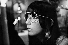 Cher, headshot, Orbit boutique, San Francisco, 1967