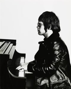 Elton John, in profile, 1971