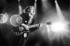 Angus Young, AC/DC, 2015