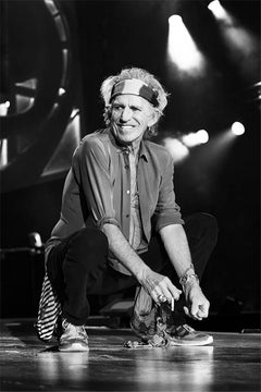 Keith Richards, The Rolling Stones, 2014