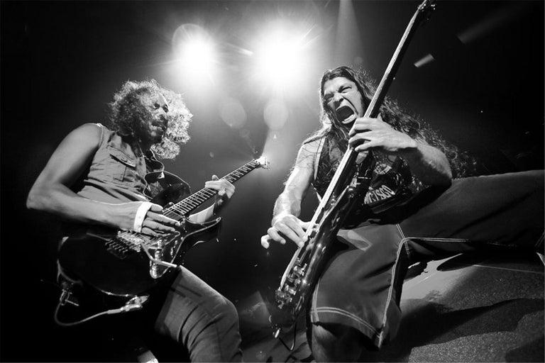 Rene Huemer Black and White Photograph - Metallica, Vienna, Austria, 2009