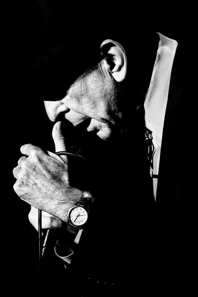 Leonard Cohen, Wiesen, Austria, 2009