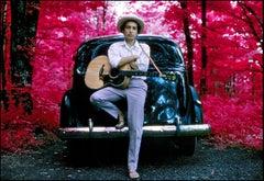 Bob Dylan, Infrared, Woodstock, NY 1968