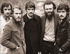 The Band, The Band album cover photo, John Joy Road, Woodstock, NY, 1969.