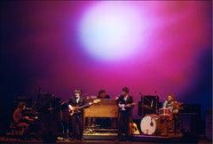 The Band, Fillmore East, Joshua Light Show, NYC, 1969.
