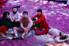 The Band, Richard & Garth's house on infrared film, 1969