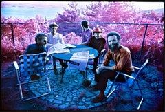 The Band, Richard & Garth's house, Infrared film 1969