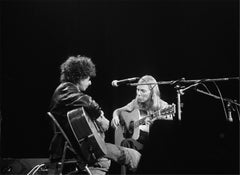 Bob Dylan and Joni Mitchell, 1976
