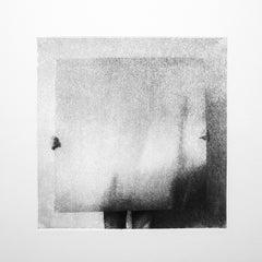 """Minimalist Figurative Contemporary Photogravure On Paper """"Persona 3/10"""""""